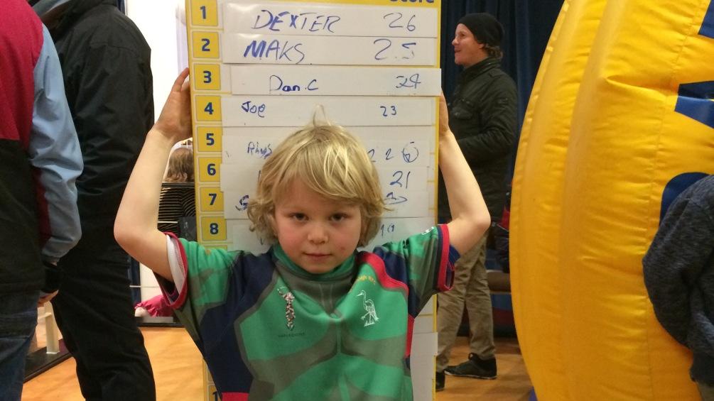 Six-year-old wins Twickenham trip with Grab a Ticket