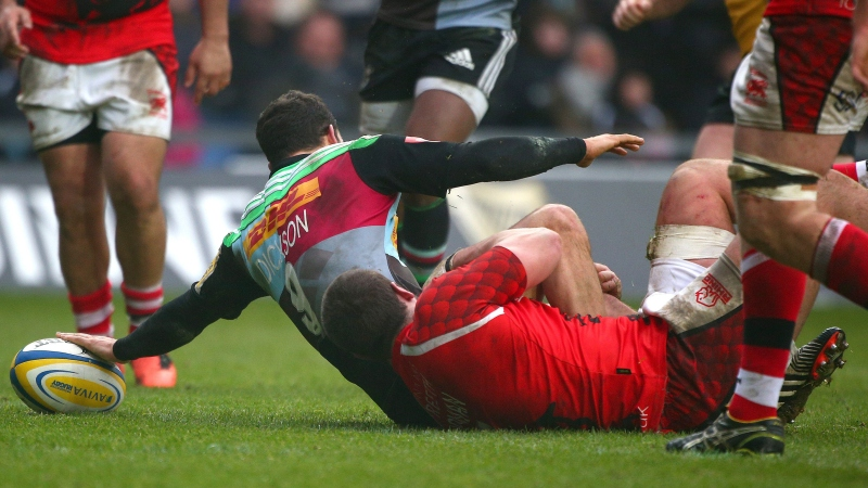 Dickson braced for uphill battle with Harlequins