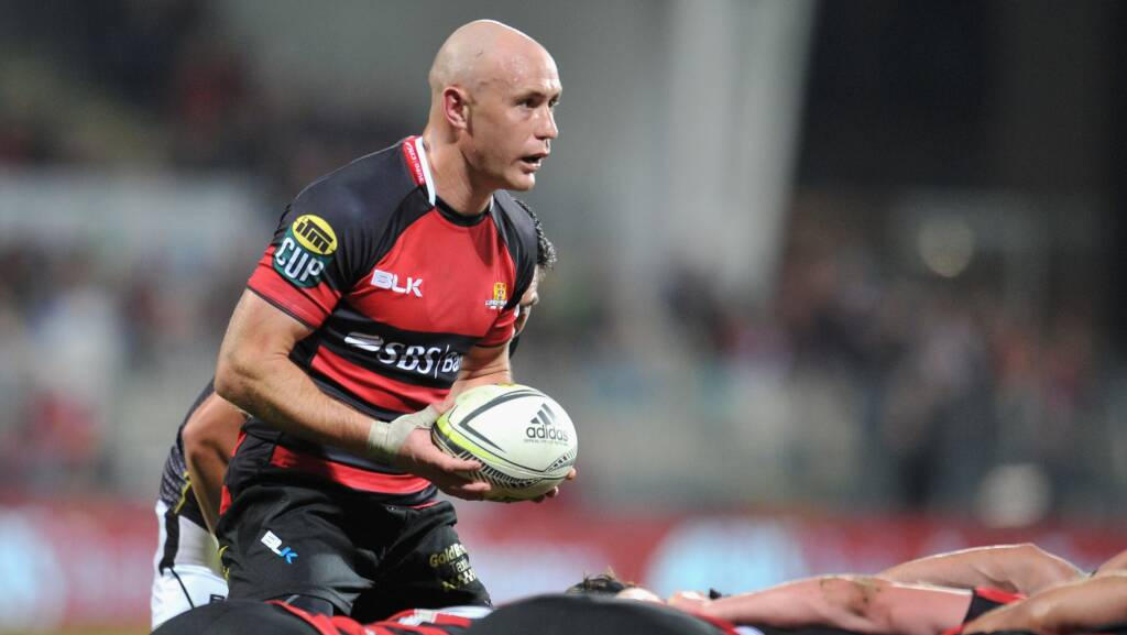 Gloucester Rugby confirm signing of Crusaders scrum-half Willi Heinz