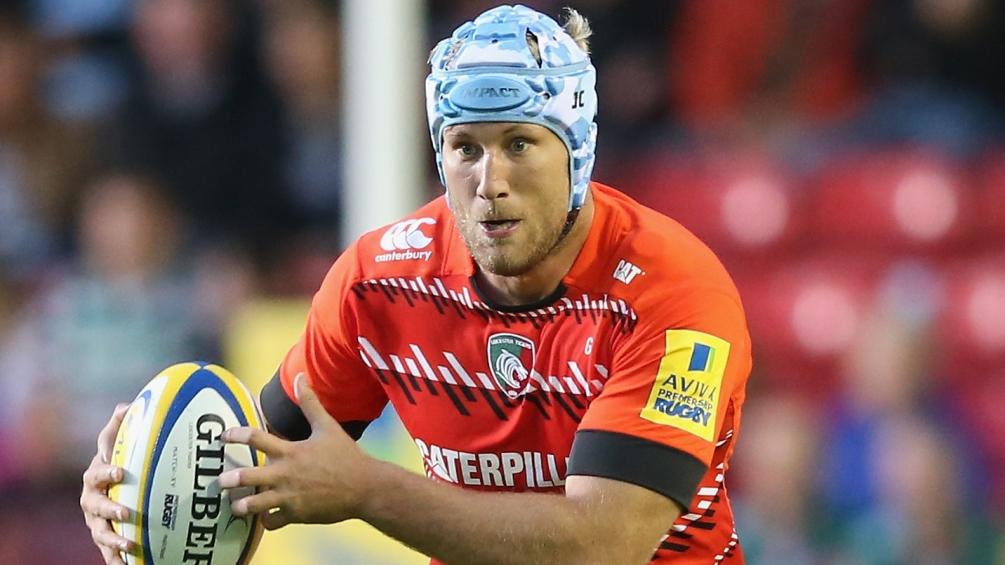 Crane leads by example for battling Leicester Tigers
