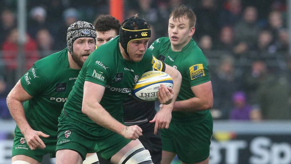 Conor Gilsenan signs two year extension with London Irish