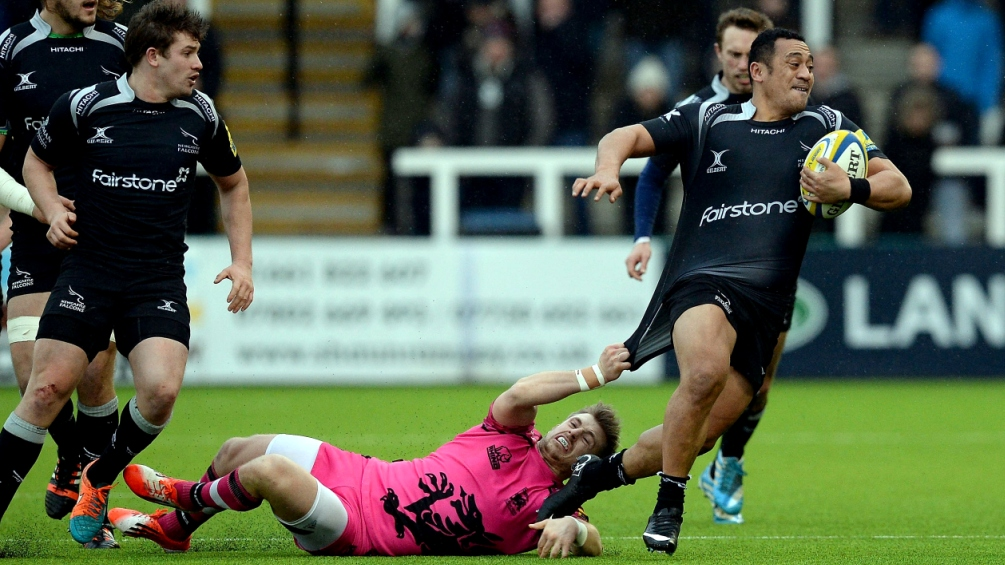 Fleet-footed Sinoti leads the way at Newcastle Falcons