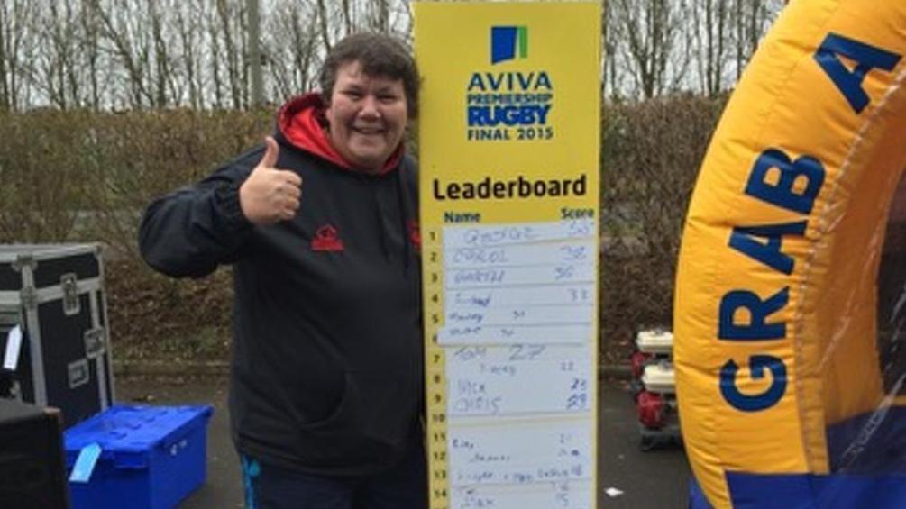 London Welsh fan becomes first Grab a Ticket winner