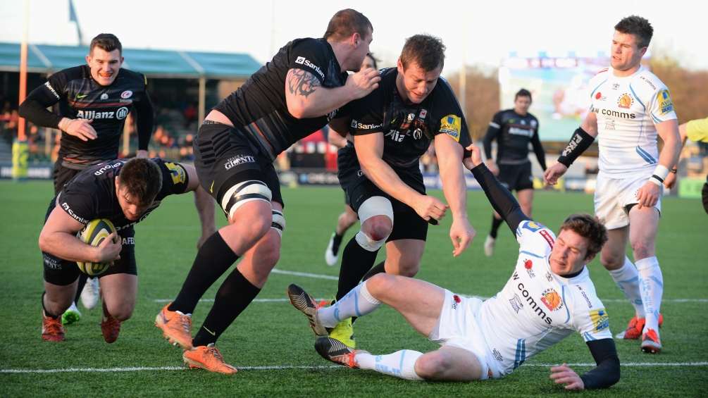 LV= Cup round-up: Saracens book home semi-final