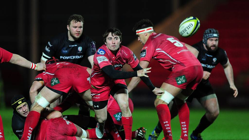 Scarlets young guns ready for shark attack