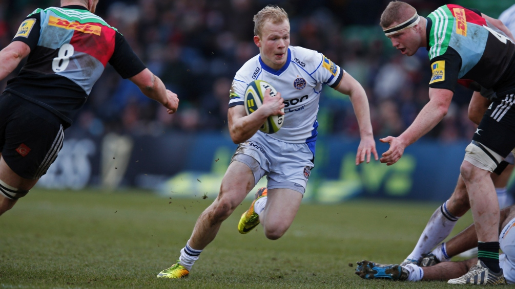 Cook impressed with Bath Rugby youngster Homer