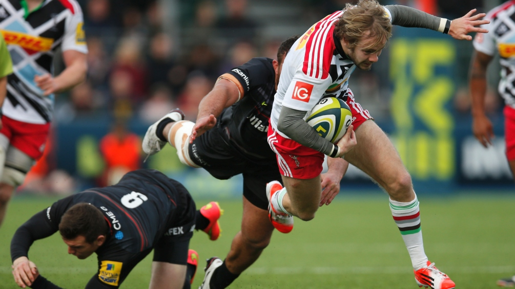Walker winging his way back into first team at Quins