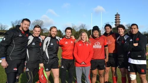 London Welsh stars backing Rebecca Rowe ahead of Wales debut