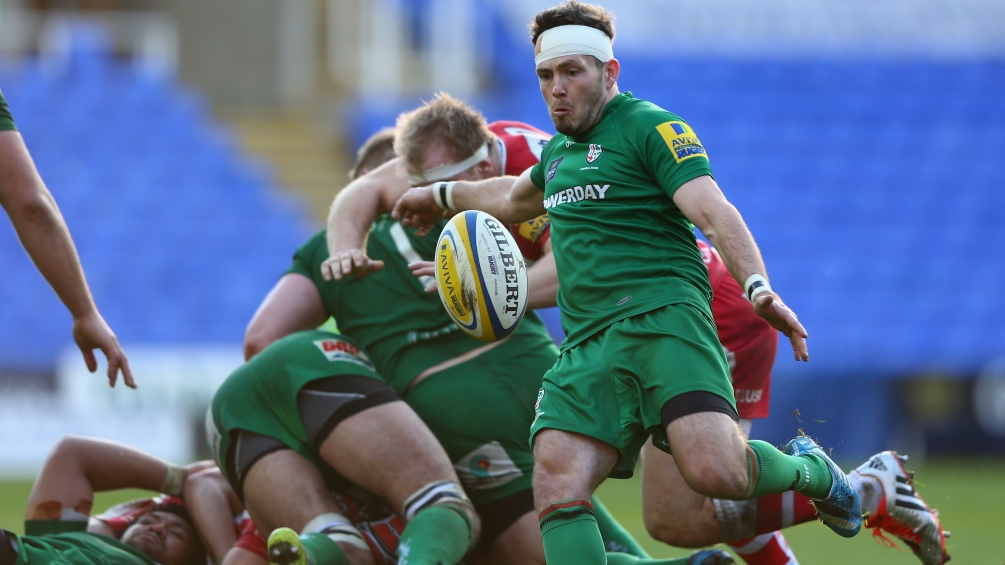 Allinson delighted to be on cusp of London Irish benchmark