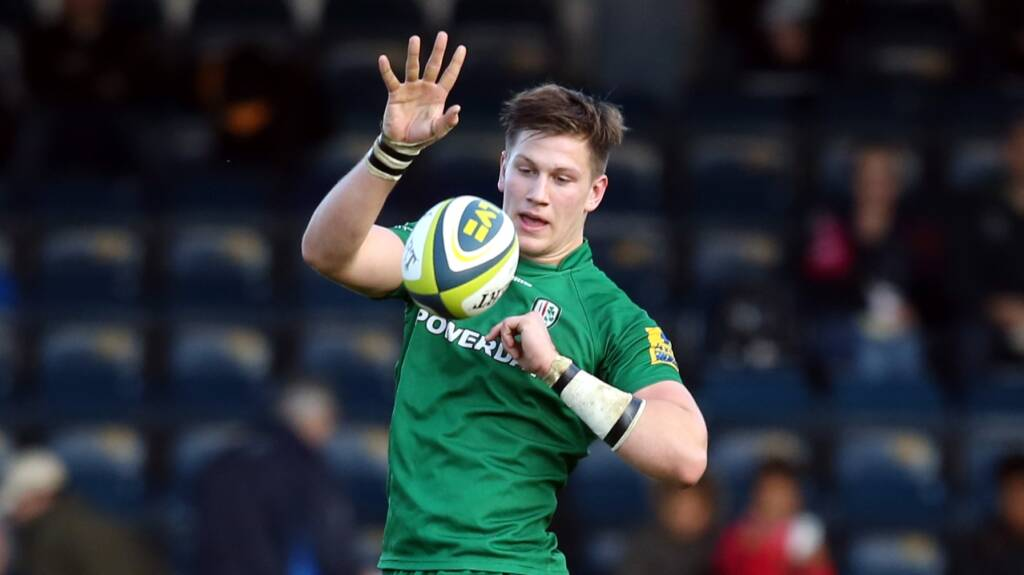 Senior Academy trio extend contracts with London Irish