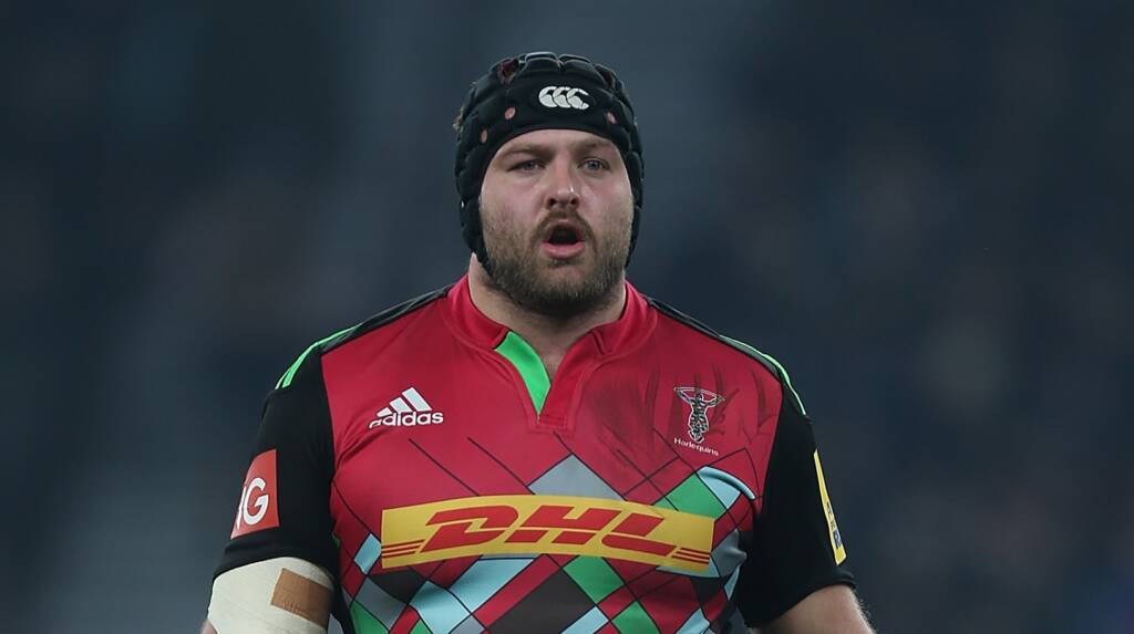 Harlequins team to play Bath Rugby