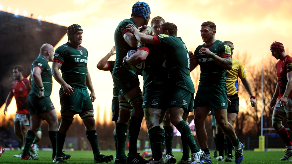Thacker content with steady progress at Leicester Tigers