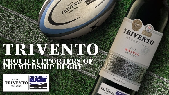 Premiership Rugby announces two more seasons with Trivento