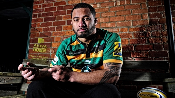 Manoa named Aviva Premiership Rugby Player of the Month