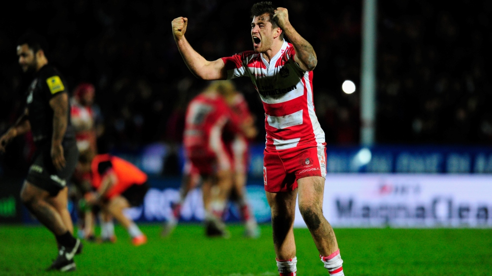 Atkinson determined to make his mark at Gloucester Rugby