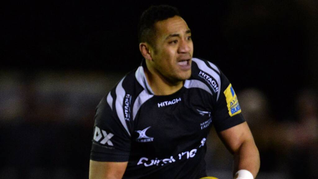Newcastle Falcons team to face London Welsh