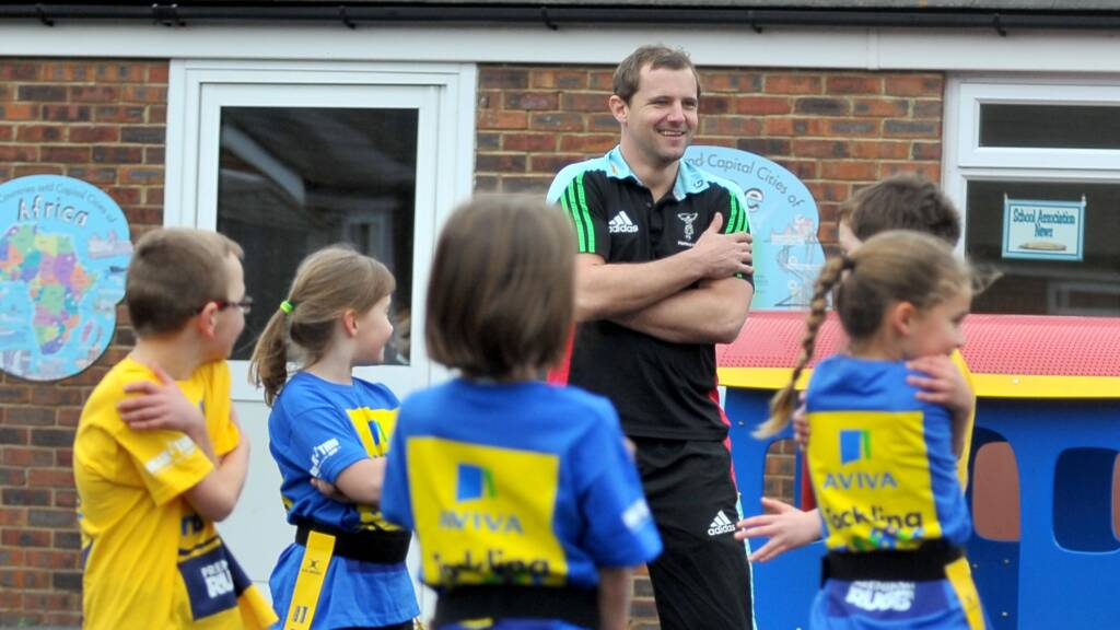 AUDIO: Evans back to school with Aviva Tackling Numbers