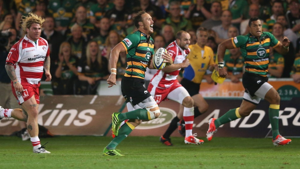 Wilson happy with Northampton Saints' points haul over Christmas