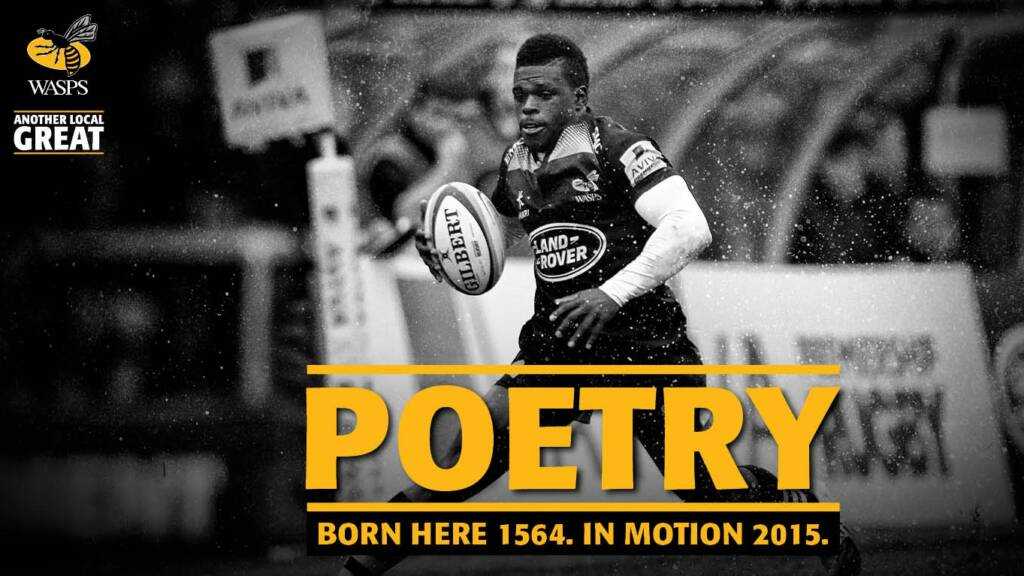 Wasps launch new advertising campaign celebrating Coventry and Warwickshire