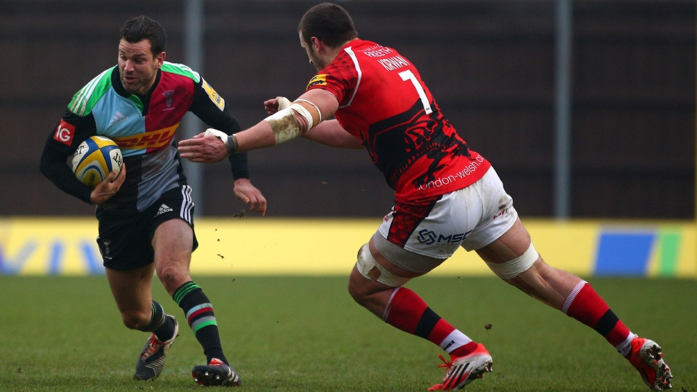 Dogged London Welsh go down battling