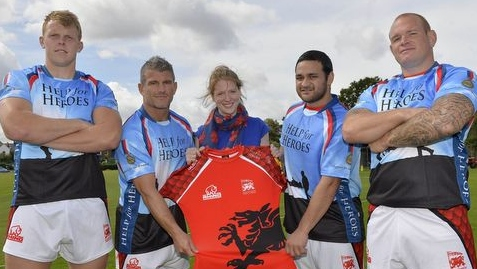 Welsh welcome Charity Partner Help for Heroes to Harlequins clash