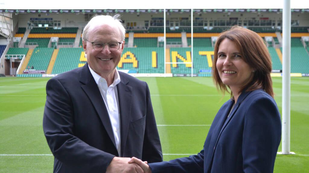 New finance director joining Northampton Saints