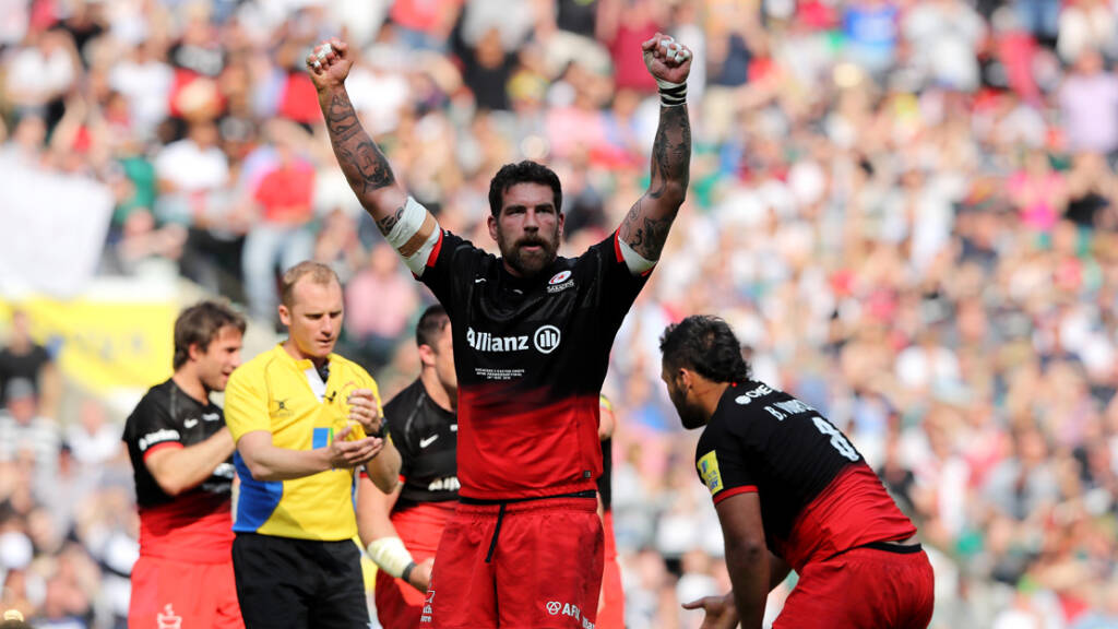 Saracens' Jim Hamilton ready to hit the ground running