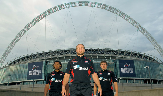 Saracens to play South Africa at Wembley Stadium