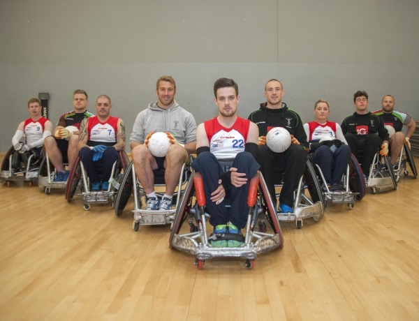 AUDIO: Robshaw delighted by Quins' partnership with GB Wheelchair Rugby
