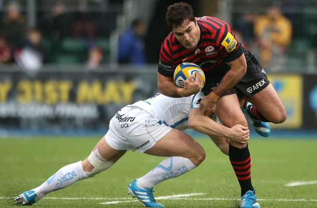 Barritt keen for Saracens to end season 'with a bang'