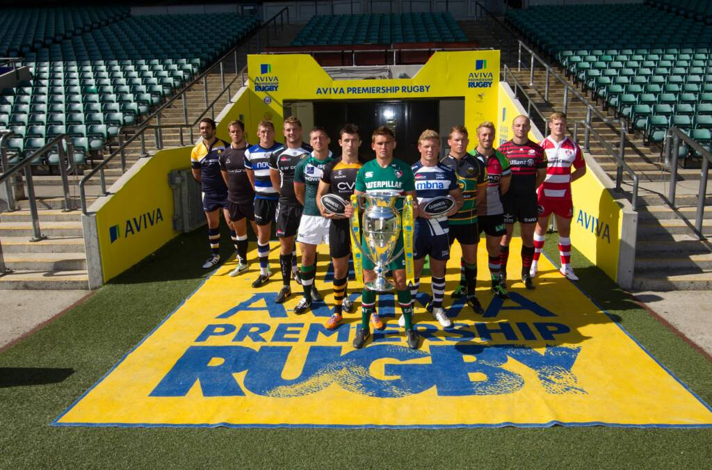 Guinness has teamed up with Premiership Rugby to hand out Limited Edition flags