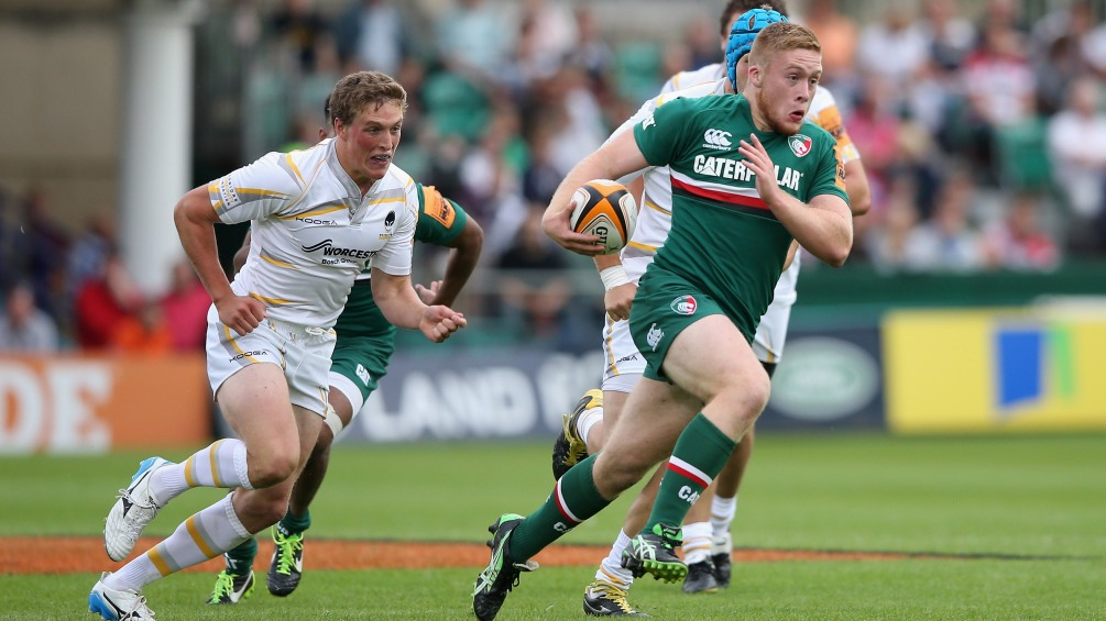 Blaze predicts glory for Leicester Tigers youngster Farnworth