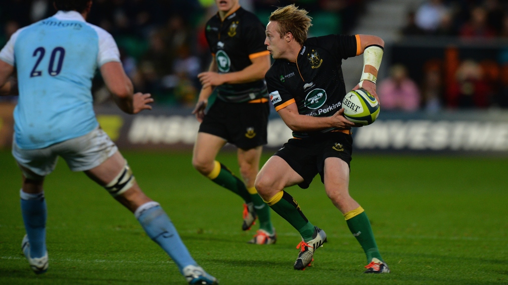 Hodgson relishing new role at Northampton Saints