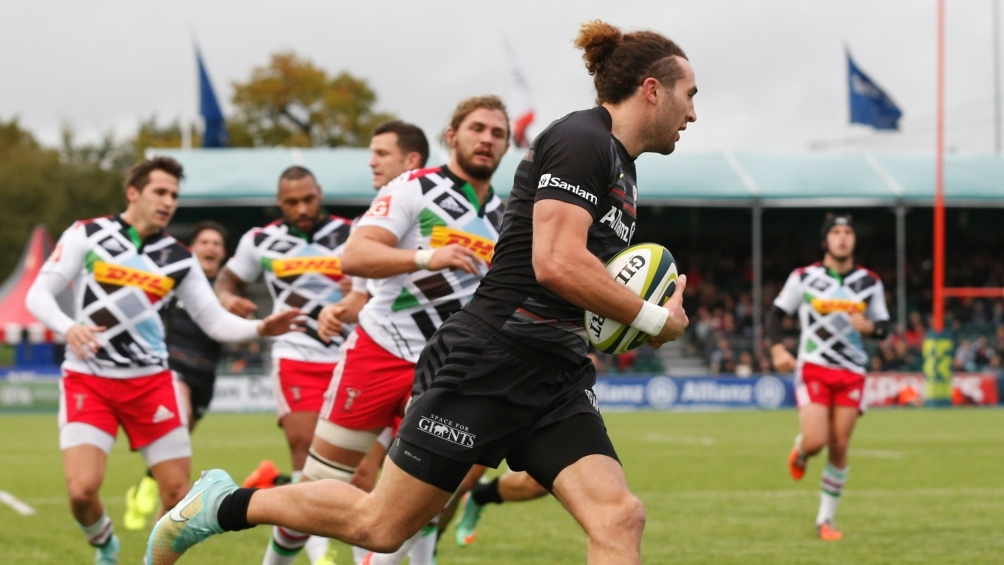 Ellery embracing the challenge at Saracens