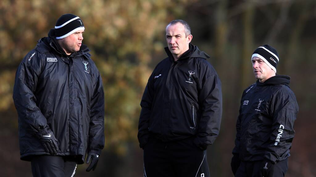Harlequins announce contract extension for two coaches