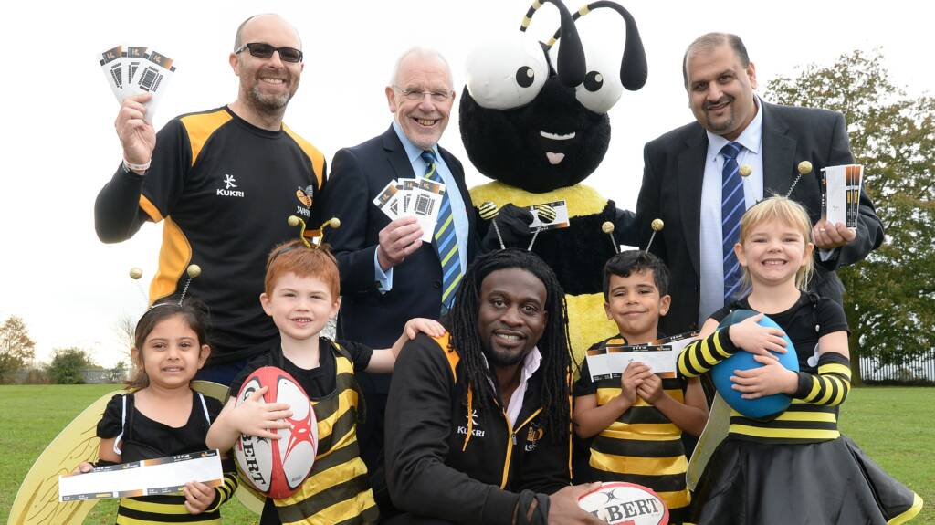 Wasps make over 12,000 free tickets available for Coventry schools & rugby clubs