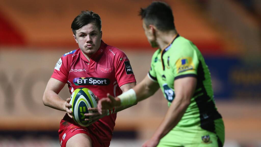 Scarlets field young side for Welsh derby
