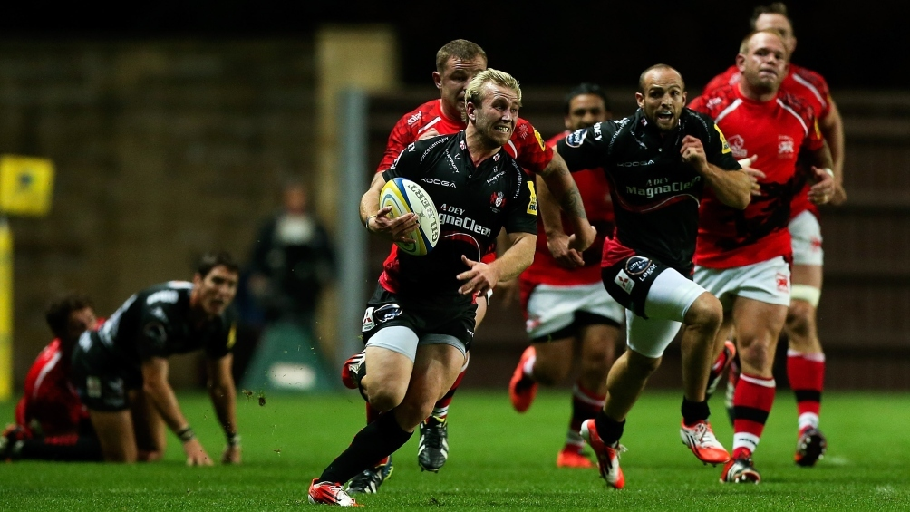 Robson focused on seizing Gloucester Rugby chance