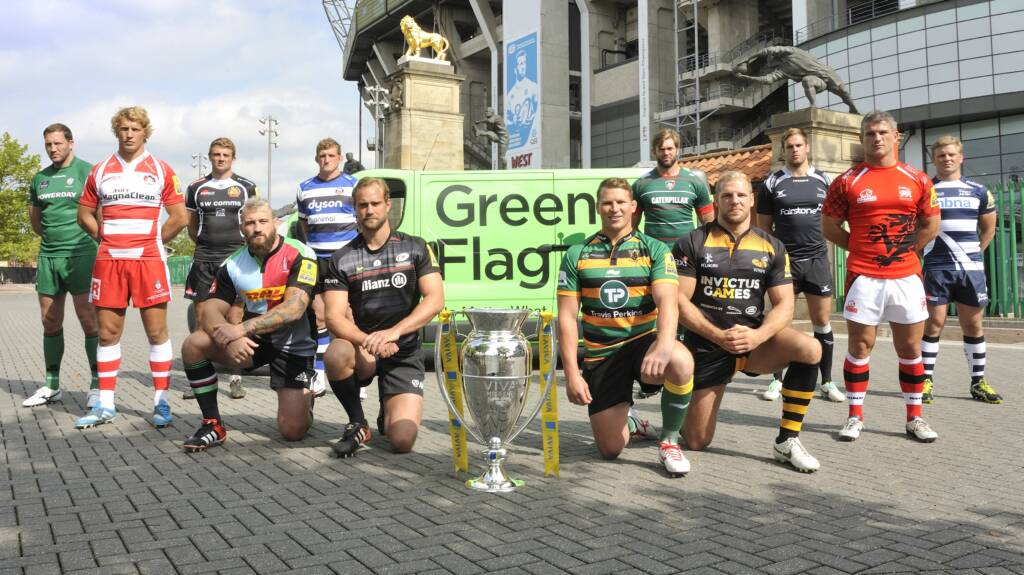 Win signed club merchandise and fuel vouchers at Sale Sharks and Wasps this weekend