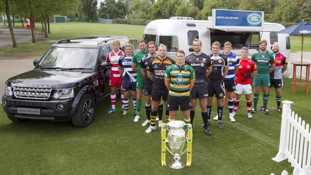 Land Rover at London Irish