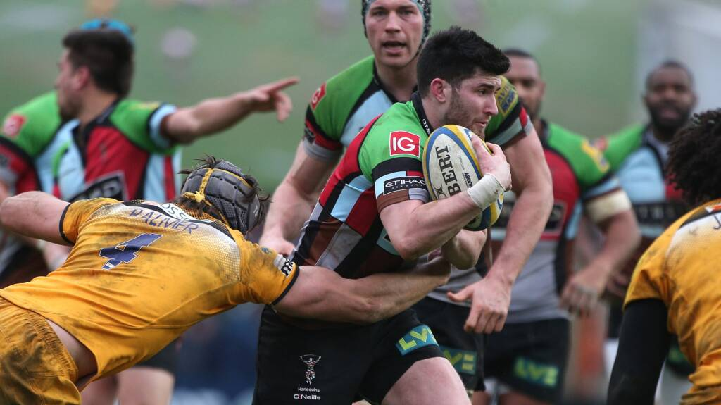 Harlequins make one change for Sale Sharks