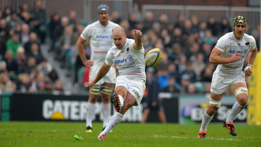 Spencer relishing Hodgson link-up at Saracens