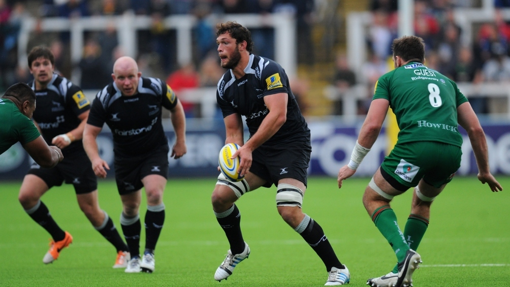 Newcastle Falcons' Barrow enjoying link up with old pal Green