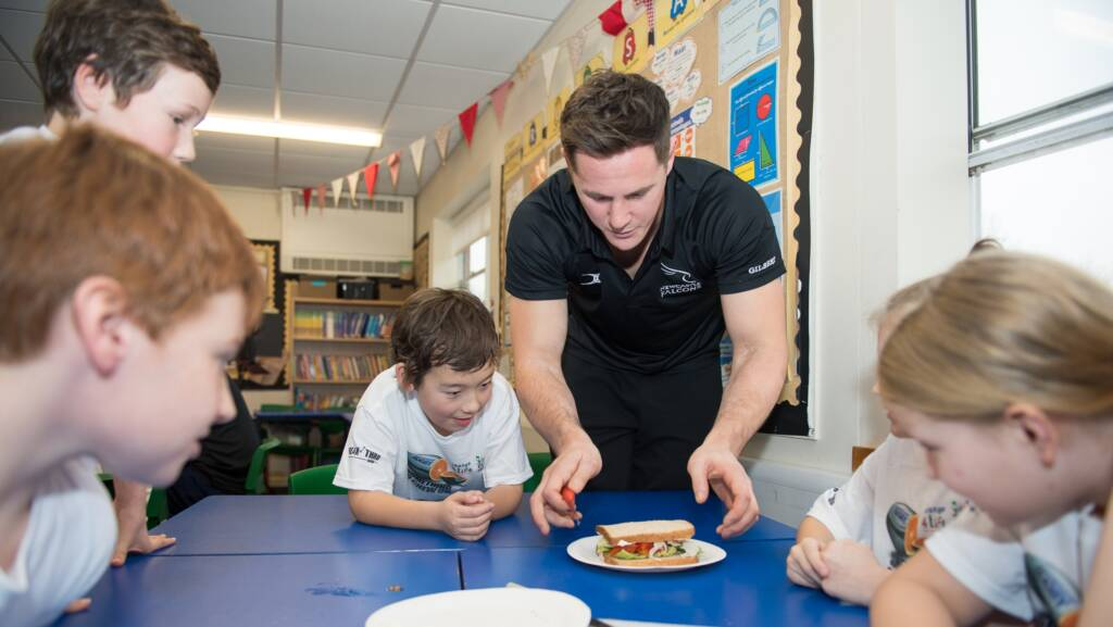 Premiership Rugby targets healthy eating for kids