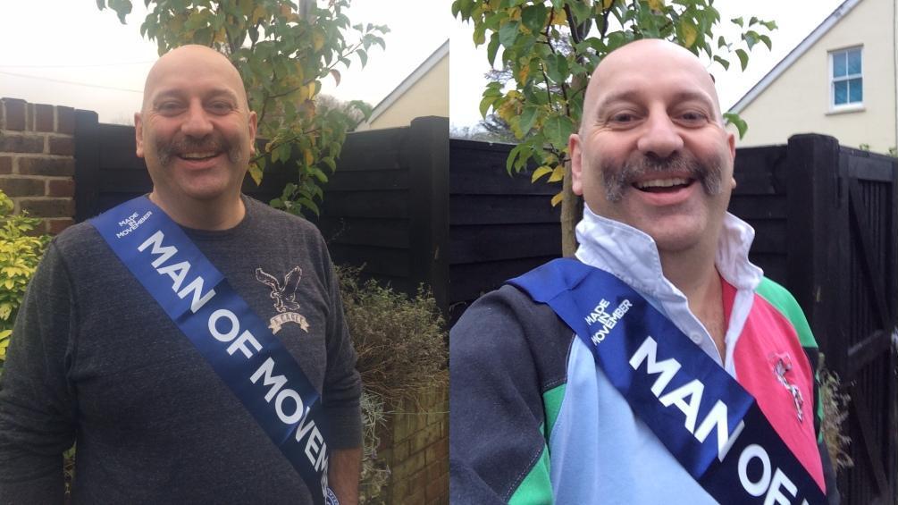 Harlequins fan and cancer survivor Adrian Flude wins 'Man of Movember'