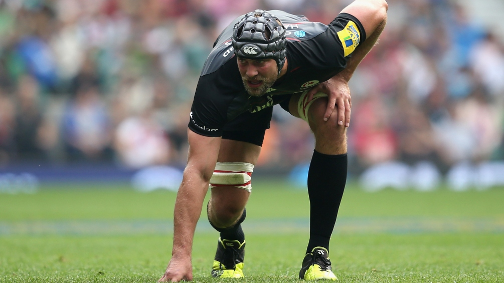 Hargreaves not going it alone as Saracens skipper