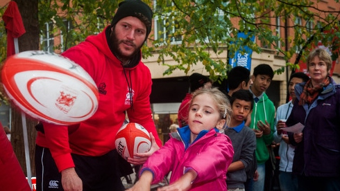 London Welsh's 'Big City Scrum' proves a big hit in Oxford