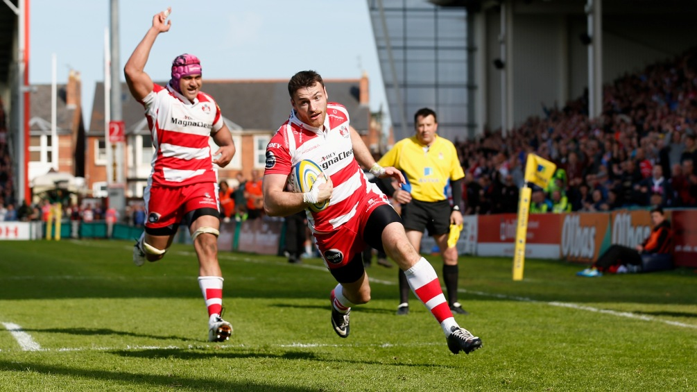 Monahan on a mission for Gloucester Rugby