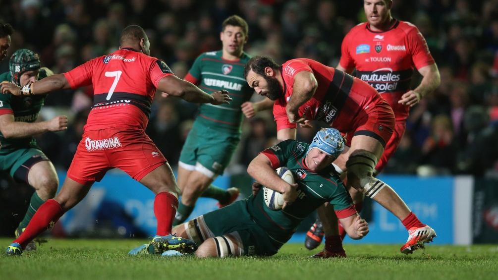 Crane: Leicester Tigers must double up at Toulon