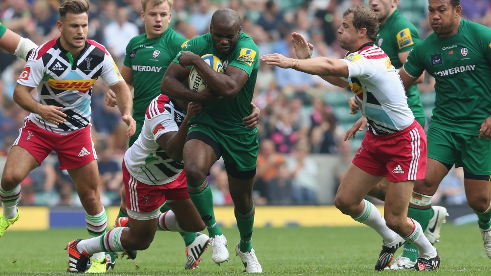 Ojo: London Irish hoping to spoil the party